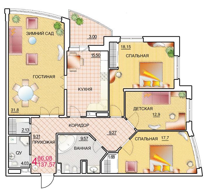 Снять квартиру посуточно в Москве аренда квартиры на